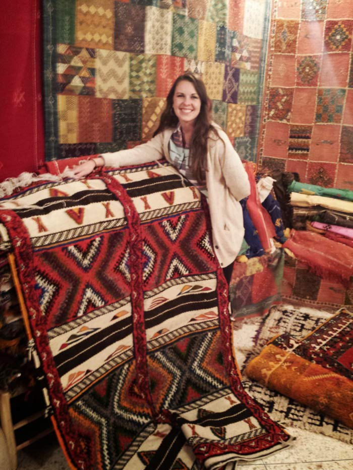Moroccan Rugs in Imlil