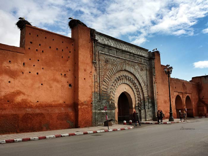 Entrance to the King's Palace in Marrakech