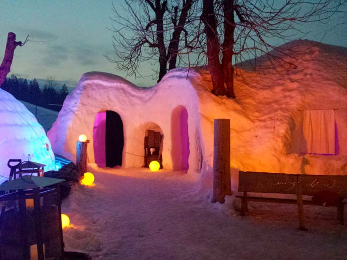 Kemmeriboden Bad Igloo