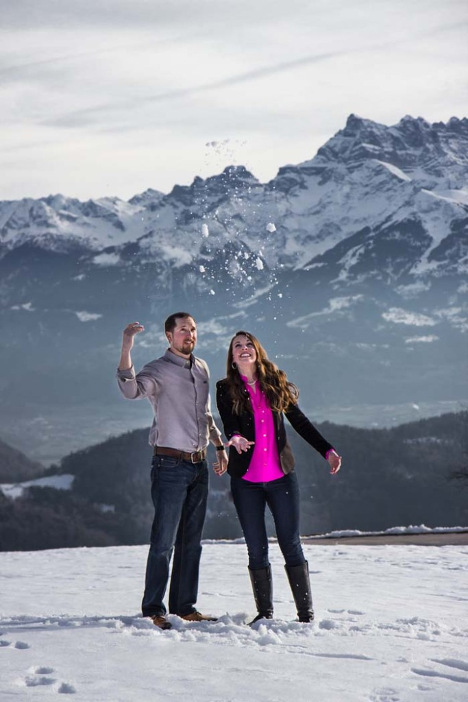 Swiss Engagement Pictures