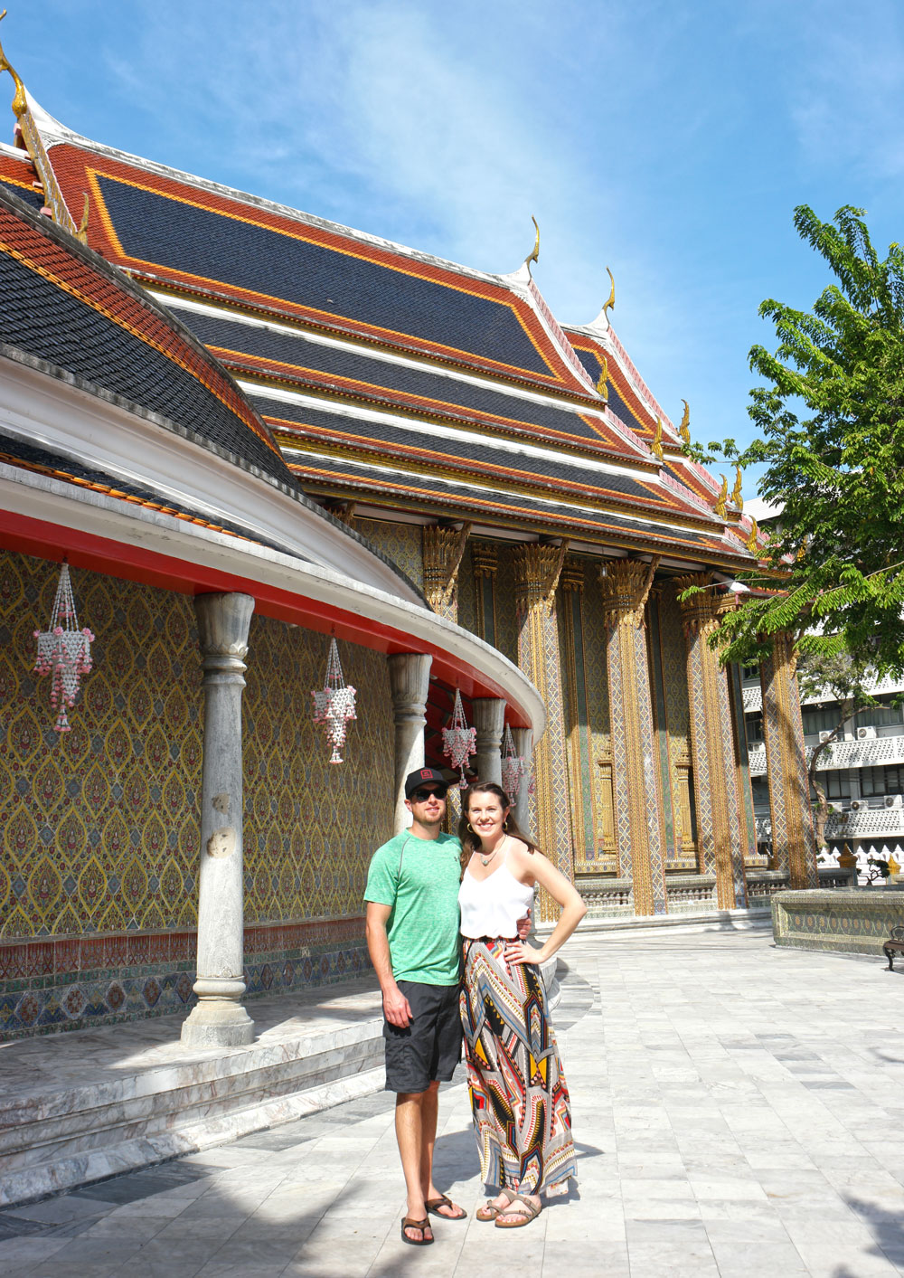 Rattanakosin Story Walking Tour - Wat Ratchabophit