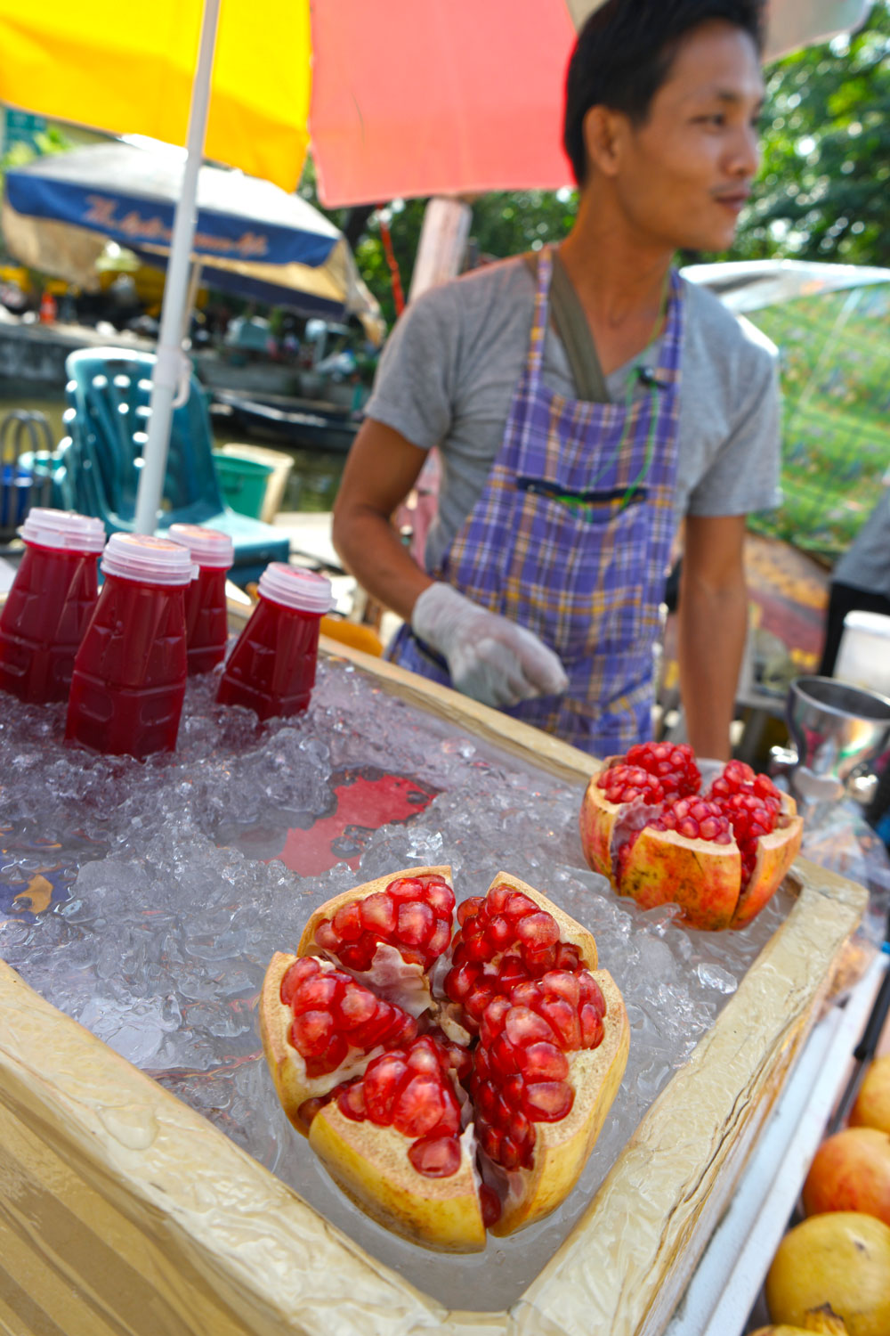 Rattanakosin Story Walking Tour - Pomegranate Juice