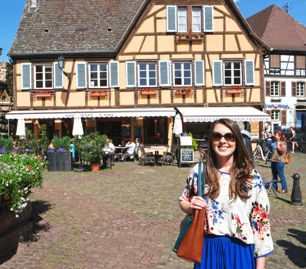 charming village of Eguisheim, France
